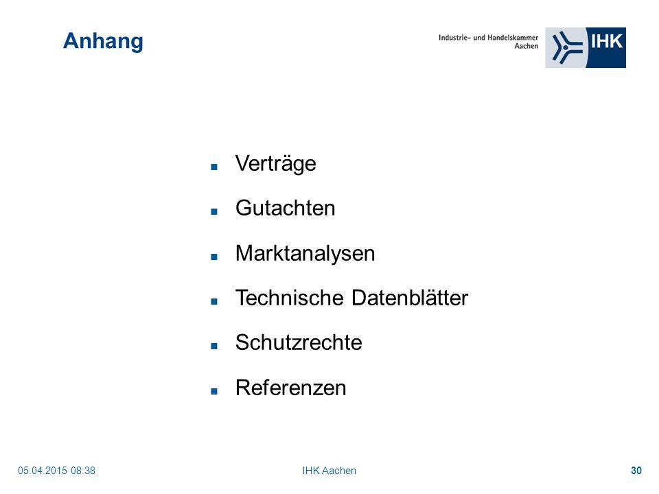 Technische Datenblätter Schutzrechte Referenzen