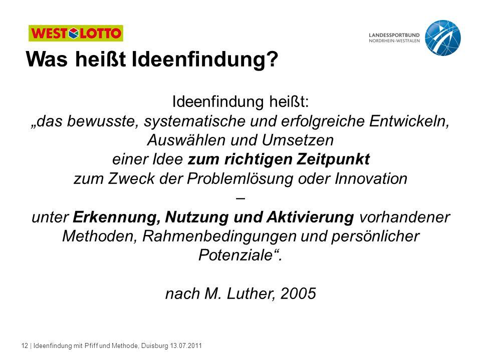 zum Zweck der Problemlösung oder Innovation