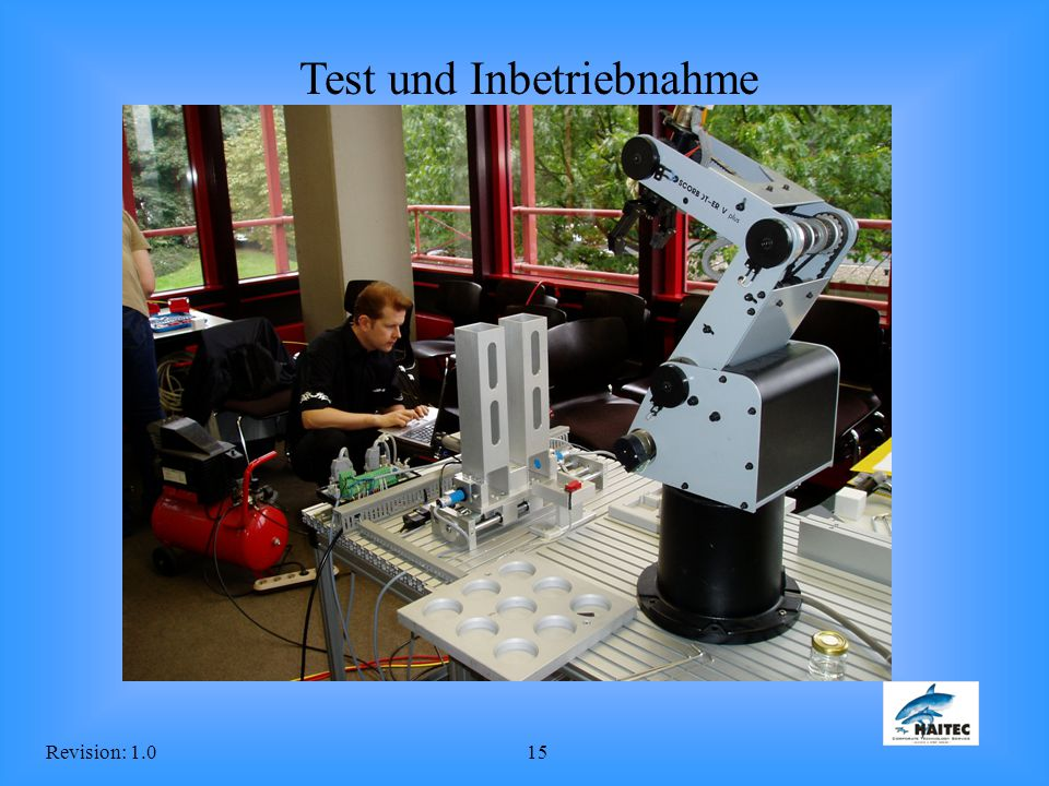 Test und Inbetriebnahme