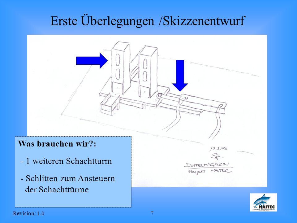 Erste Überlegungen /Skizzenentwurf