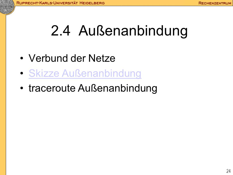 2.4 Außenanbindung Verbund der Netze Skizze Außenanbindung