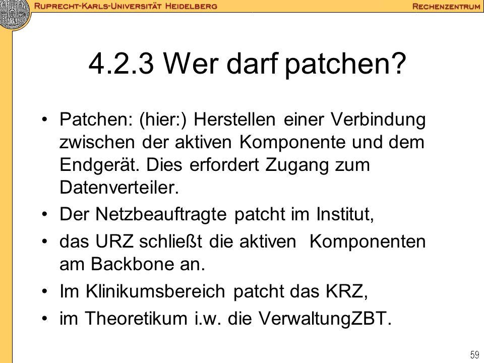 4.2.3 Wer darf patchen