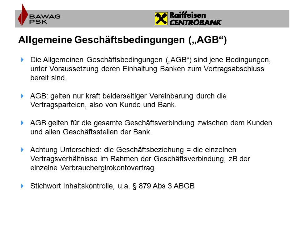 """Allgemeine Geschäftsbedingungen (""""AGB )"""