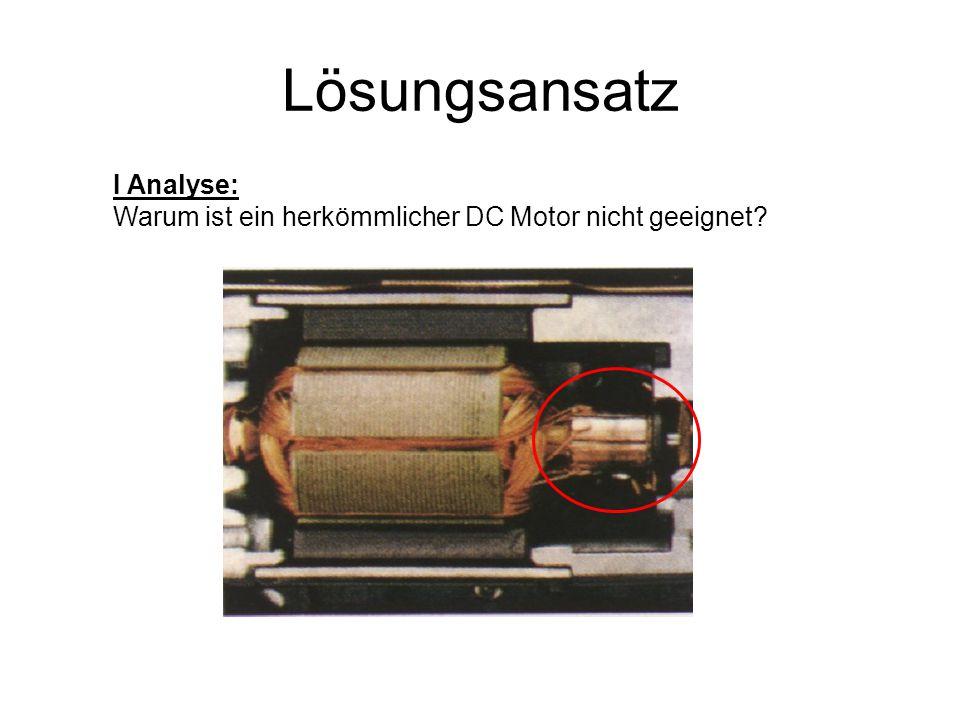 Lösungsansatz I Analyse: