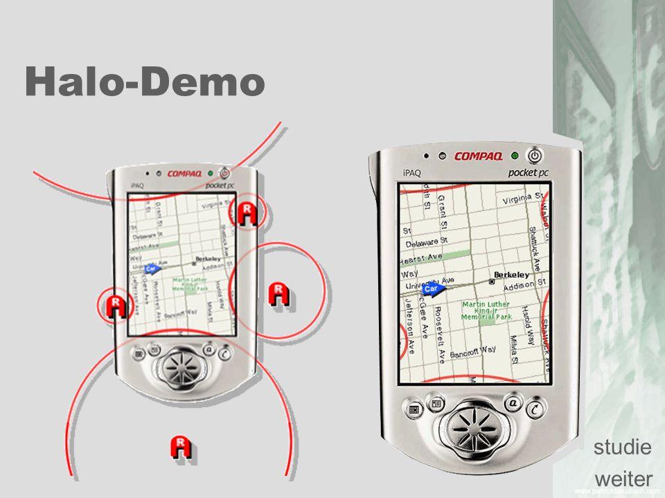 Halo-Demo studie weiter