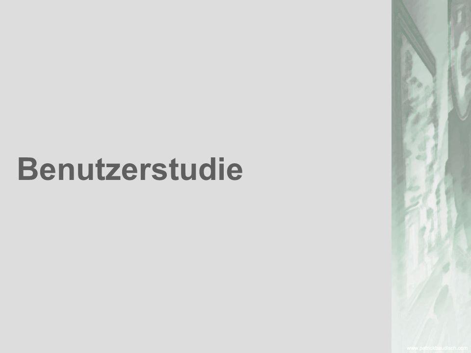 title: user study Benutzerstudie