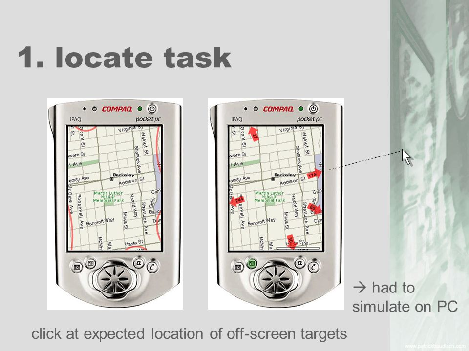 1. locate task  had to simulate on PC