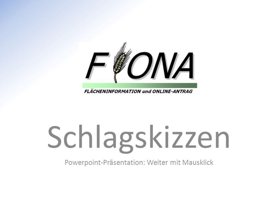 Schlagskizzen Powerpoint-Präsentation: Weiter mit Mausklick