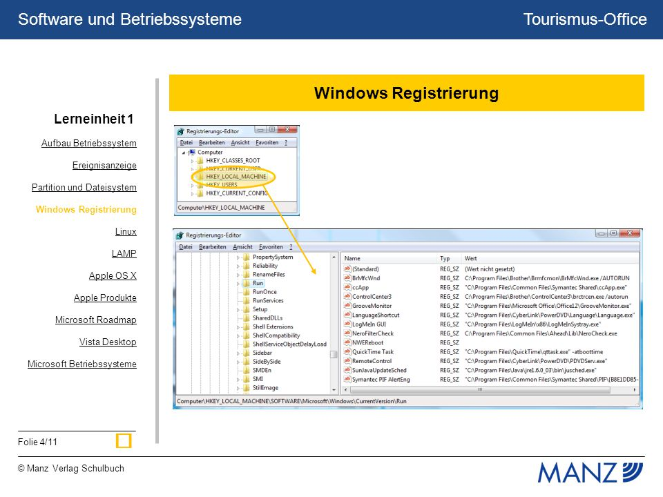 Windows Registrierung