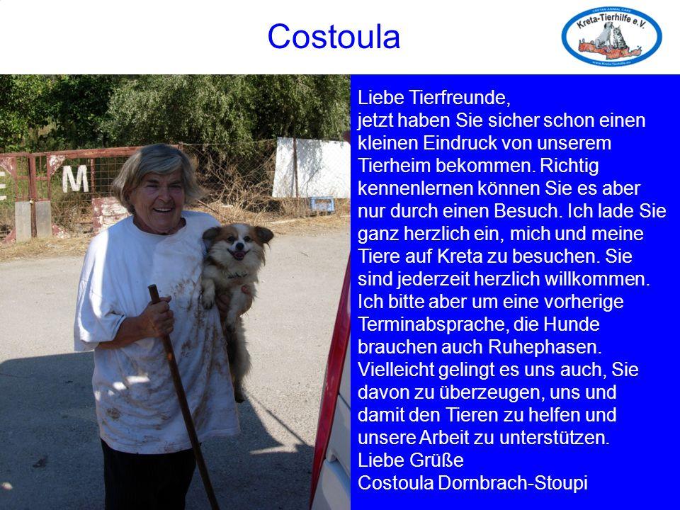 Costoula Costoula Liebe Tierfreunde,