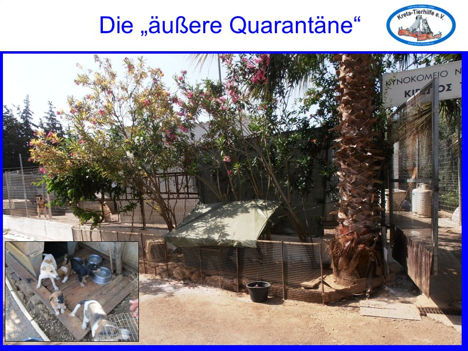 """Die """"äußere Quarantäne"""