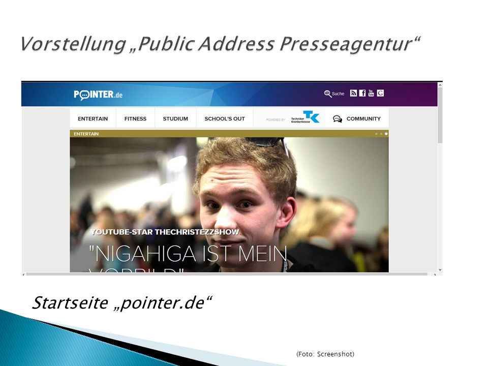 "Vorstellung ""Public Address Presseagentur"