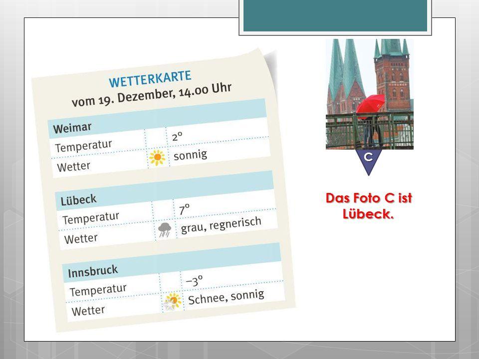 C Das Foto C ist Lübeck.