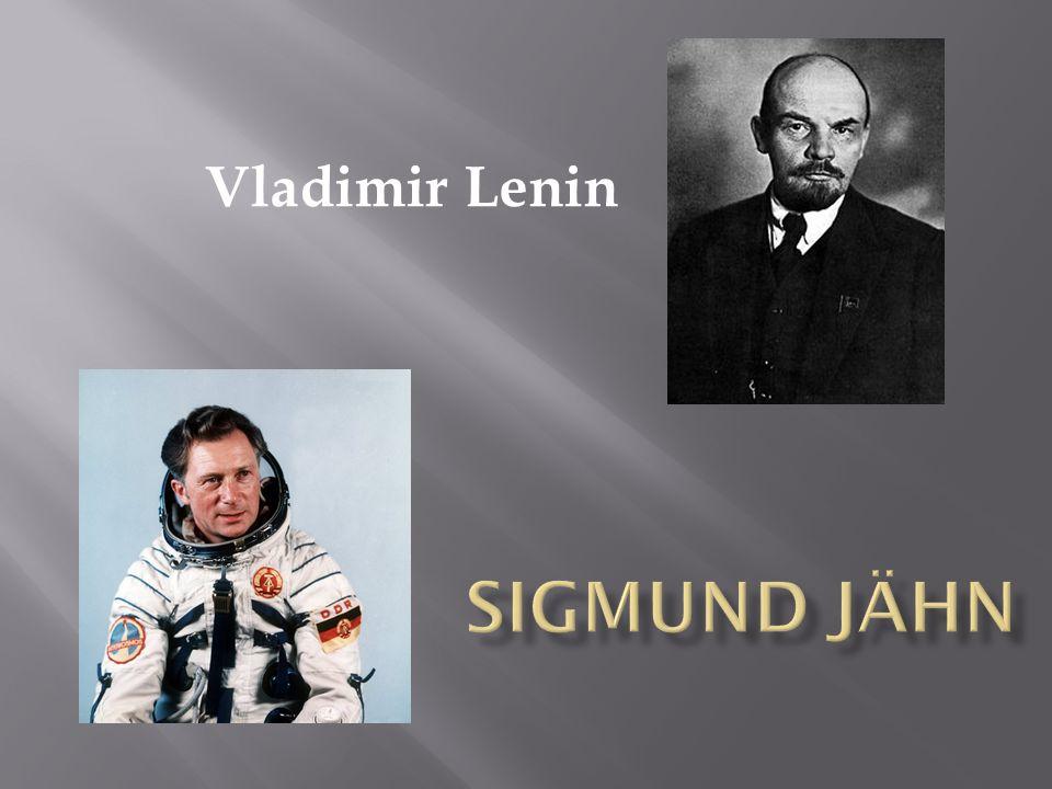 Vladimir Lenin Sigmund Jähn