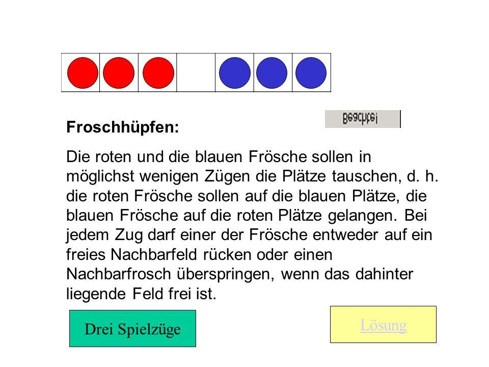 Froschhüpfen: