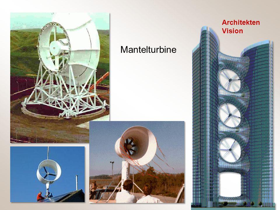 Architekten Vision Mantelturbine