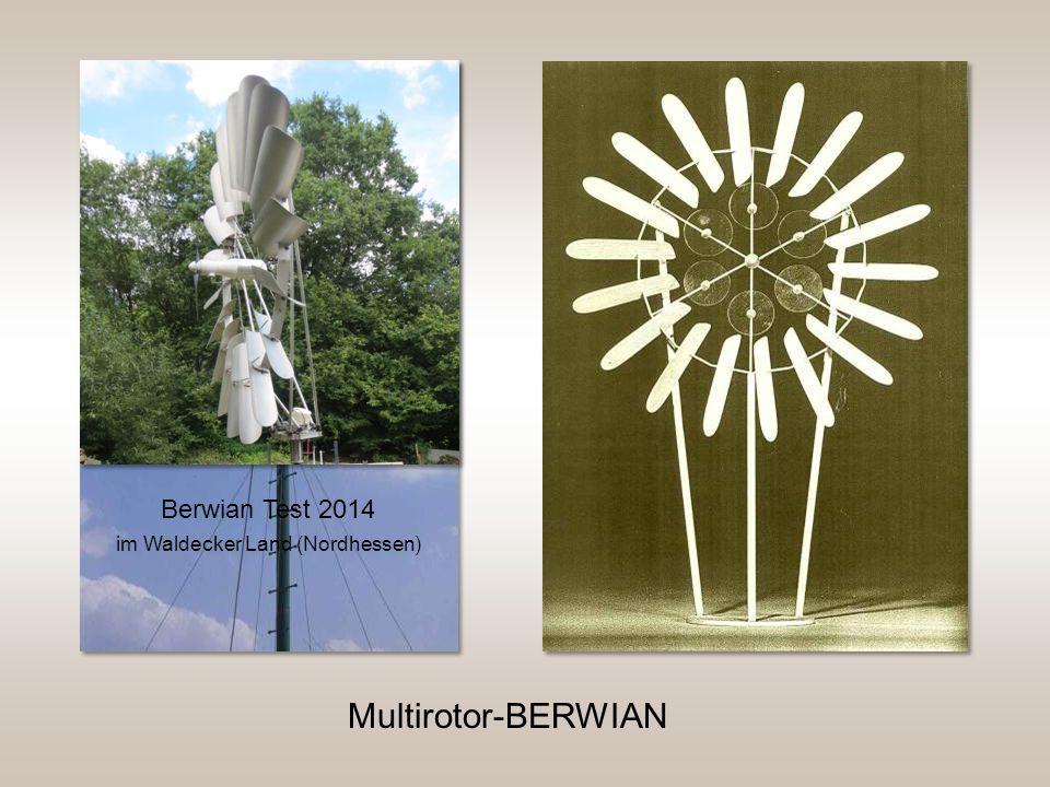 Berwian Test 2014 im Waldecker Land (Nordhessen) Multirotor-BERWIAN