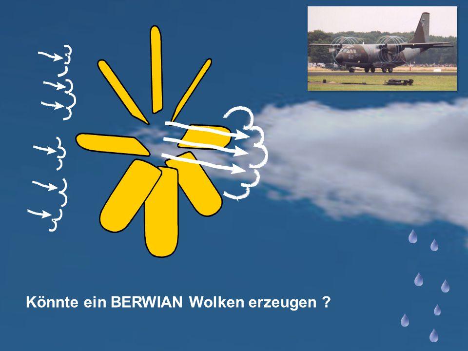 Könnte ein BERWIAN Wolken erzeugen