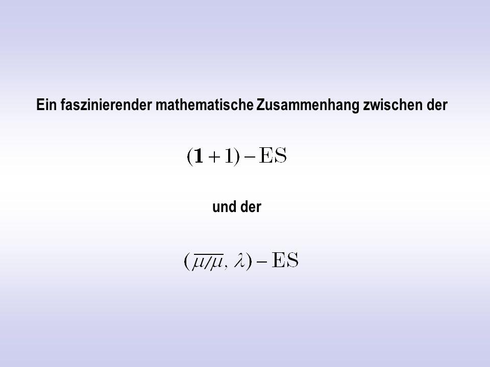Ein faszinierender mathematische Zusammenhang zwischen der