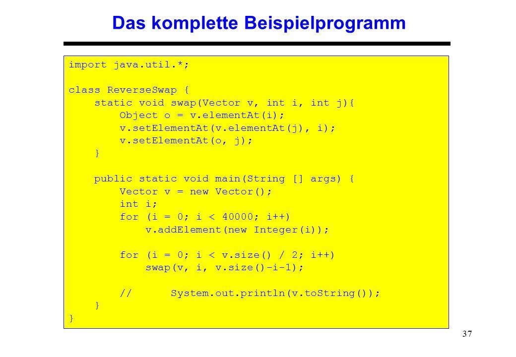 Das komplette Beispielprogramm