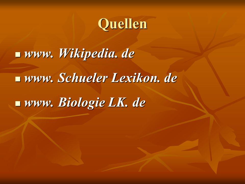 Quellen www. Wikipedia. de www. Schueler Lexikon. de