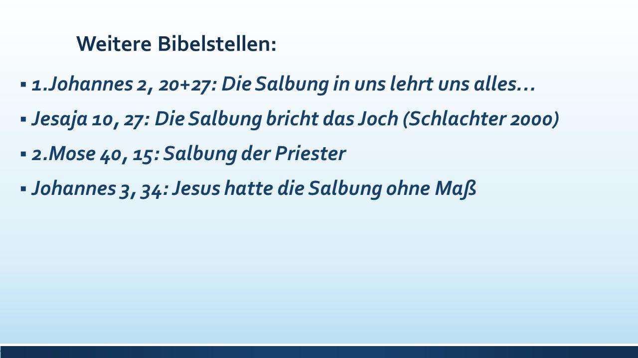 Weitere Bibelstellen: