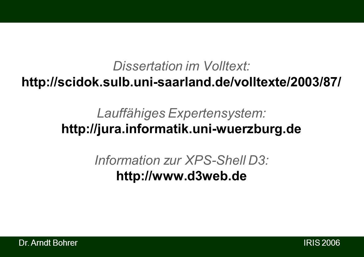 Dissertation im Volltext: http://scidok. sulb. uni-saarland