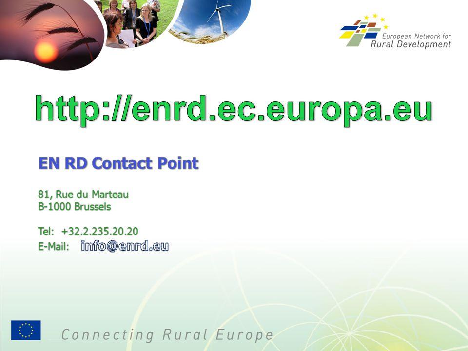 http://enrd.ec.europa.eu EN RD Contact Point 81, Rue du Marteau