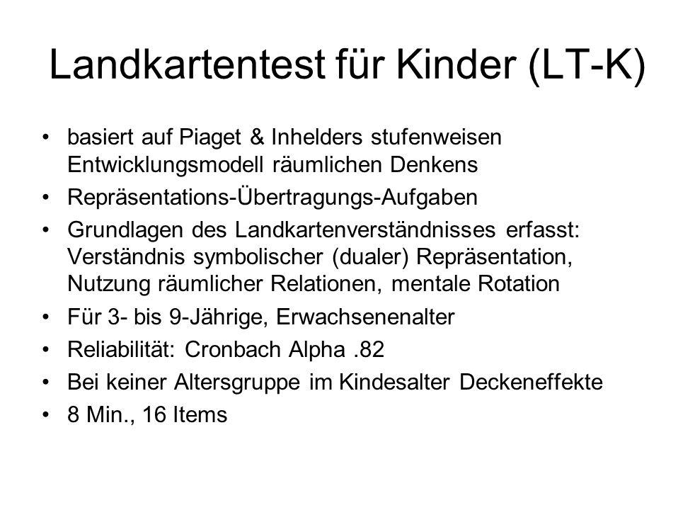 Landkartentest für Kinder (LT-K)