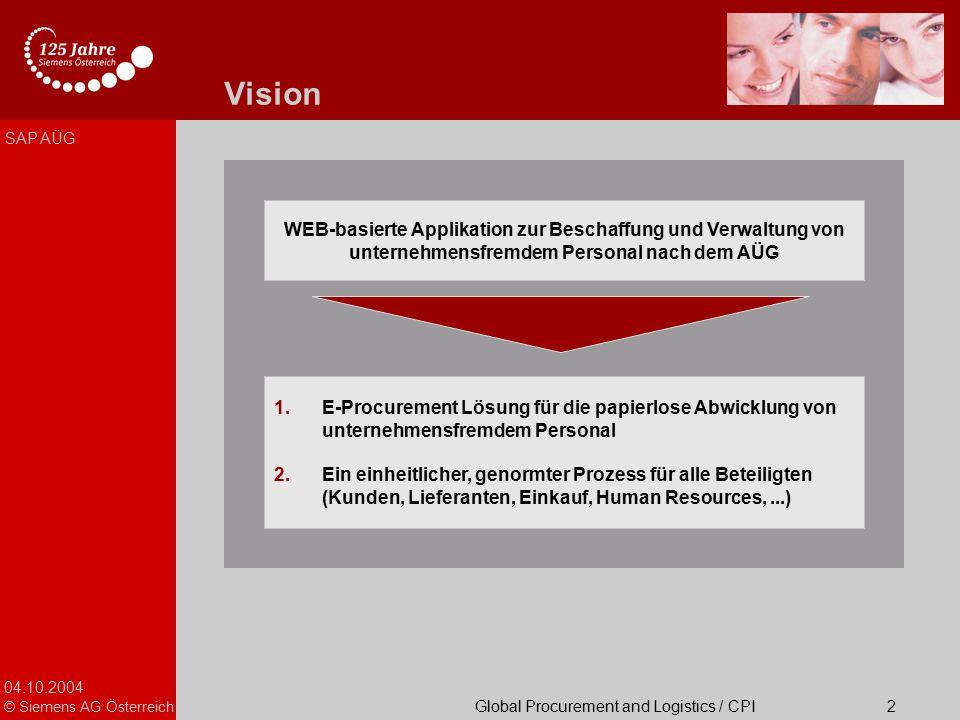 Vision Präsentationstitel
