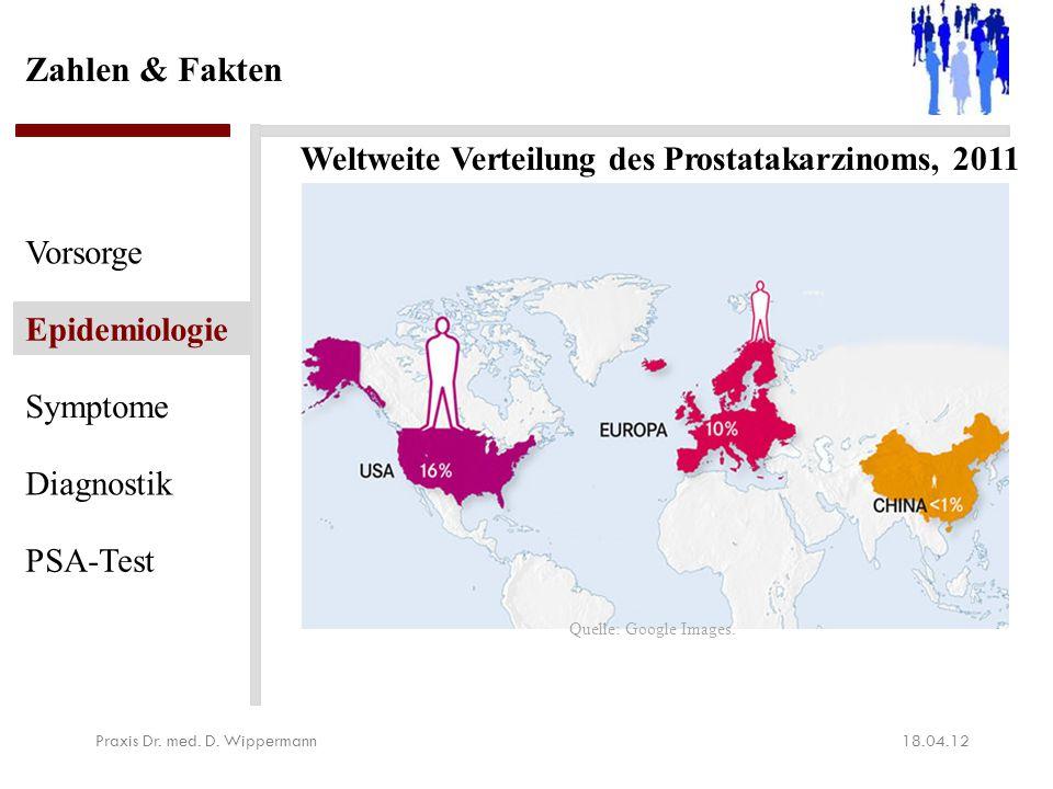 Epidemiologische Maßzahlen für Deutschland