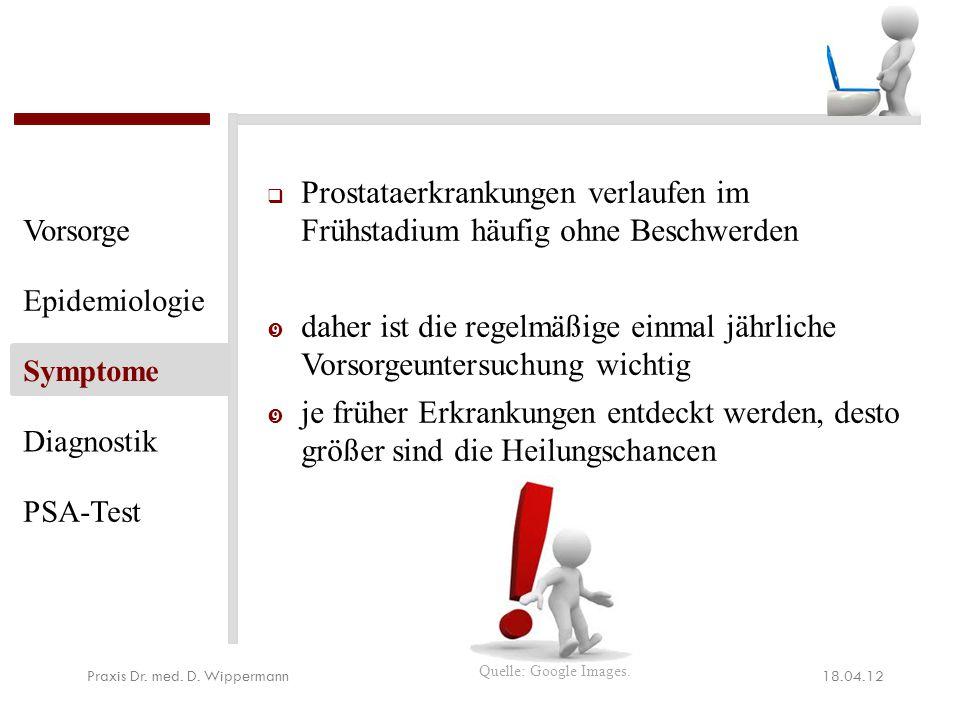 Die Prostata Vorsorgeuntersuchung umfasst: