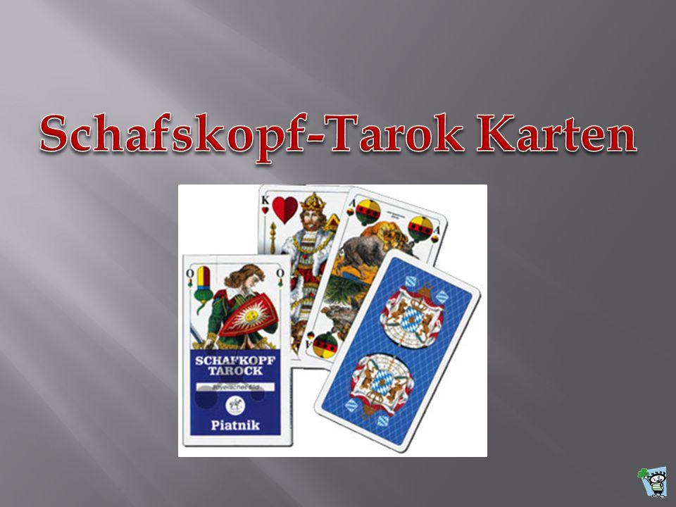 Schafskopf-Tarok Karten