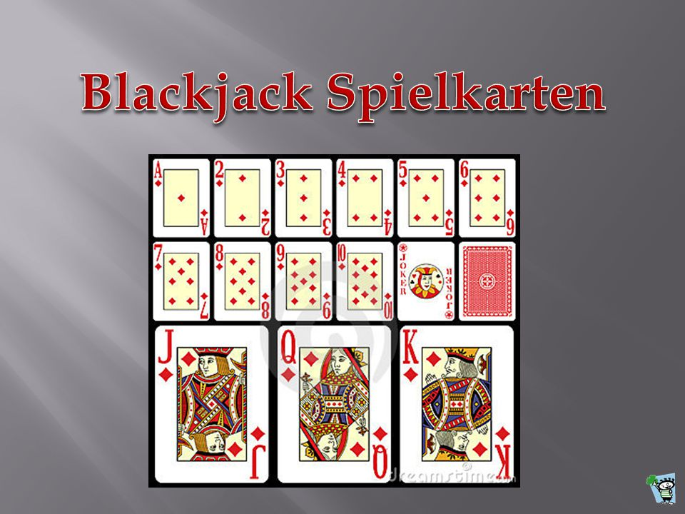 Blackjack Spielkarten