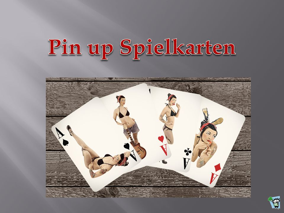 Pin up Spielkarten