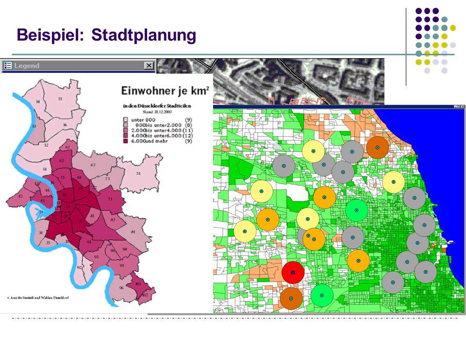 Beispiel: Stadtplanung