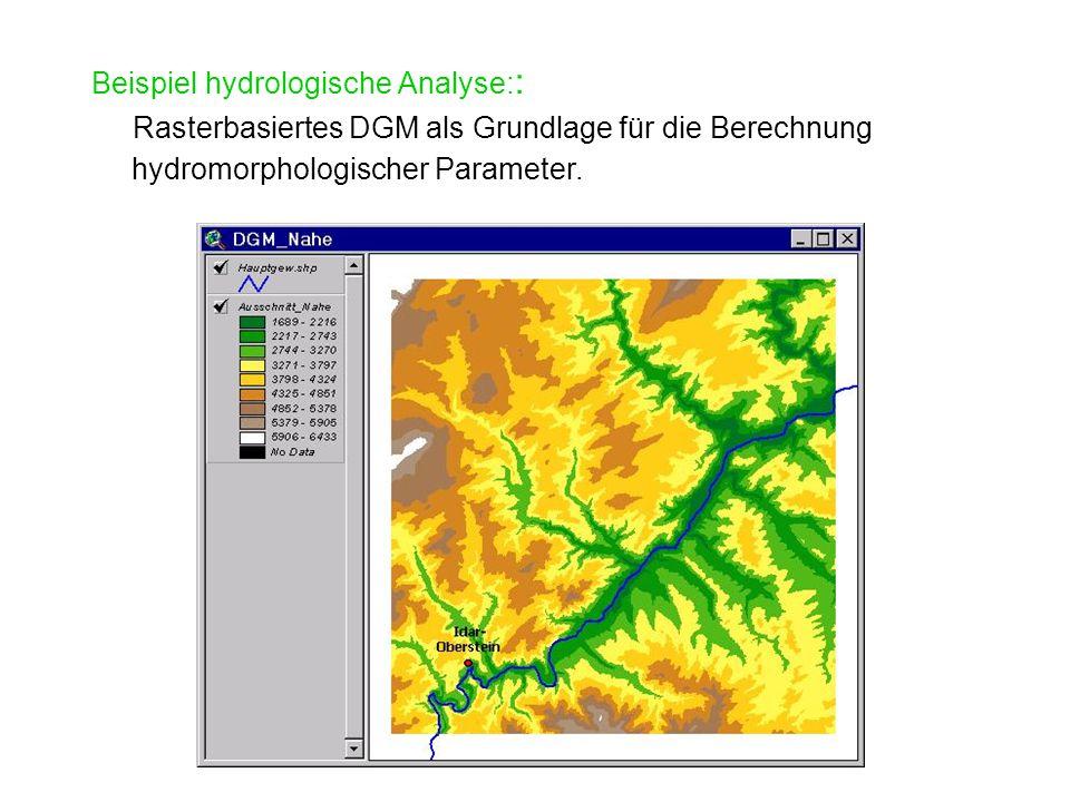 Beispiel hydrologische Analyse::
