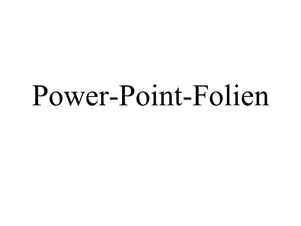 Power-Point-Folien