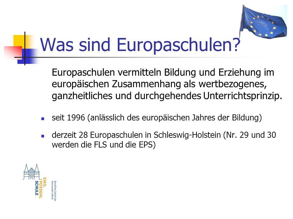 Was sind Europaschulen