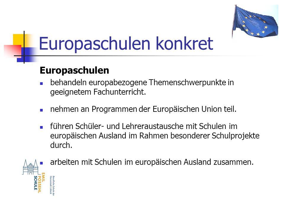 Europaschulen konkret