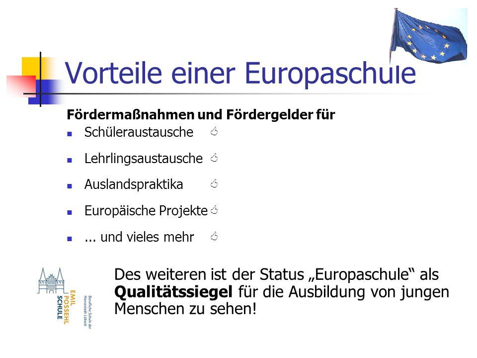 Vorteile einer Europaschule