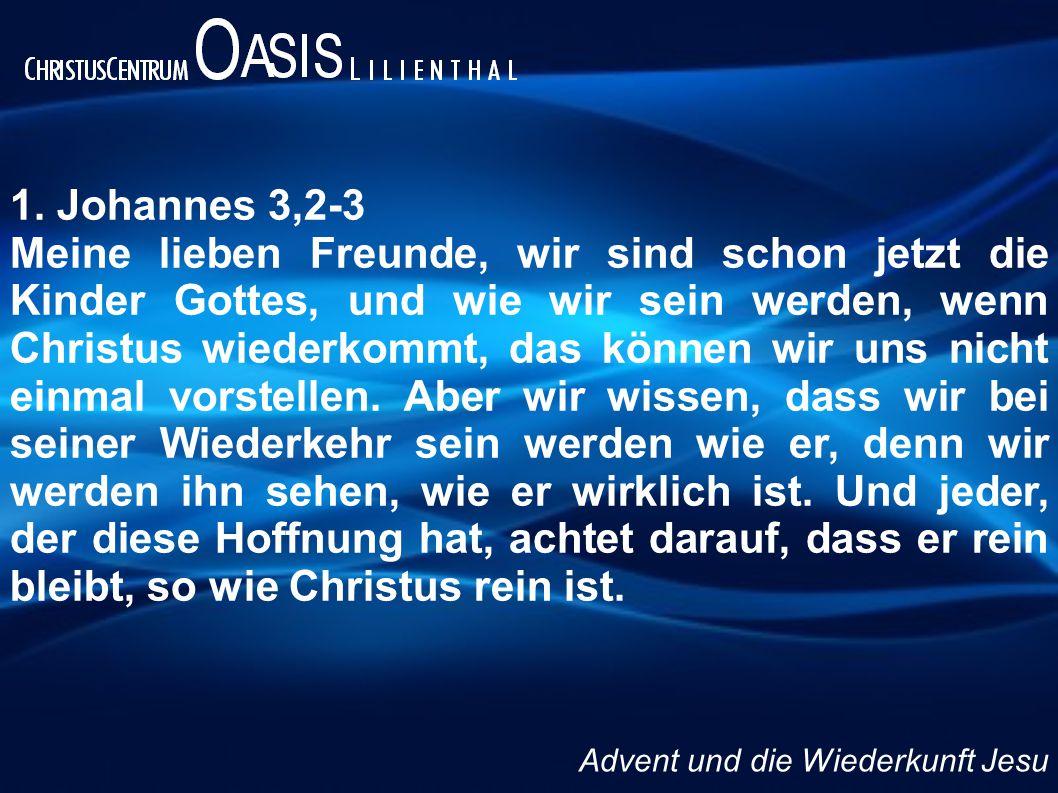 1. Johannes 3,2-3