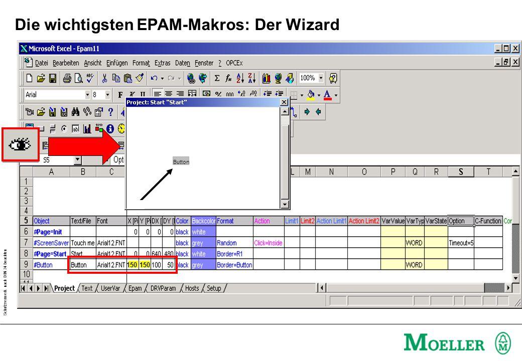 Die wichtigsten EPAM-Makros: Der Wizard