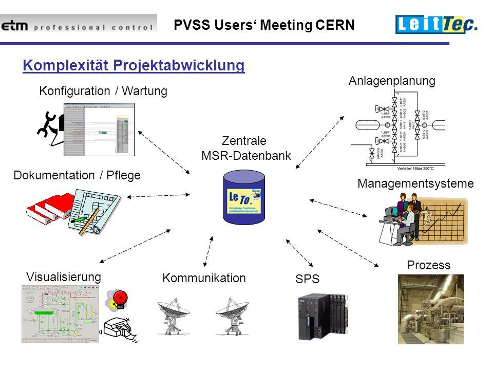 Komplexität Projektabwicklung