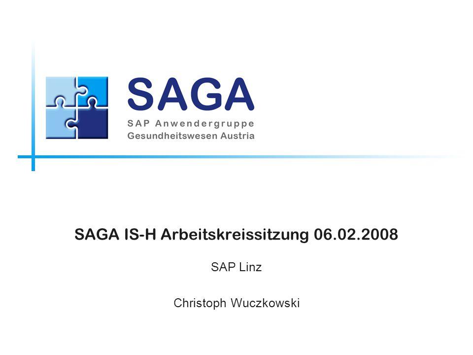 SAGA IS-H Arbeitskreissitzung 06.02.2008