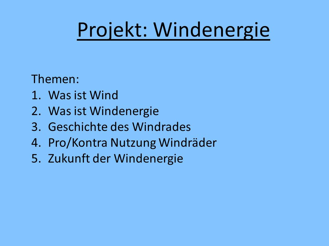 Prasentation windenergie