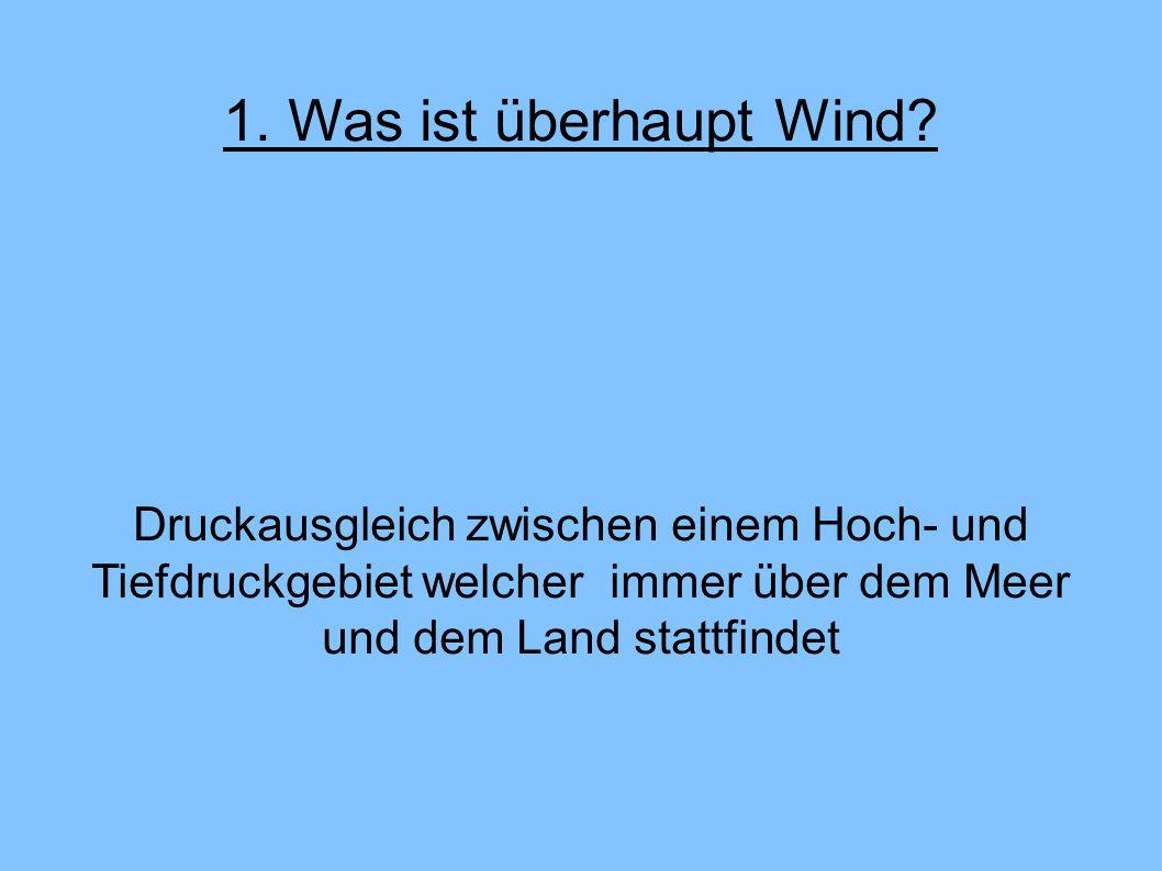 1. Was ist überhaupt Wind.
