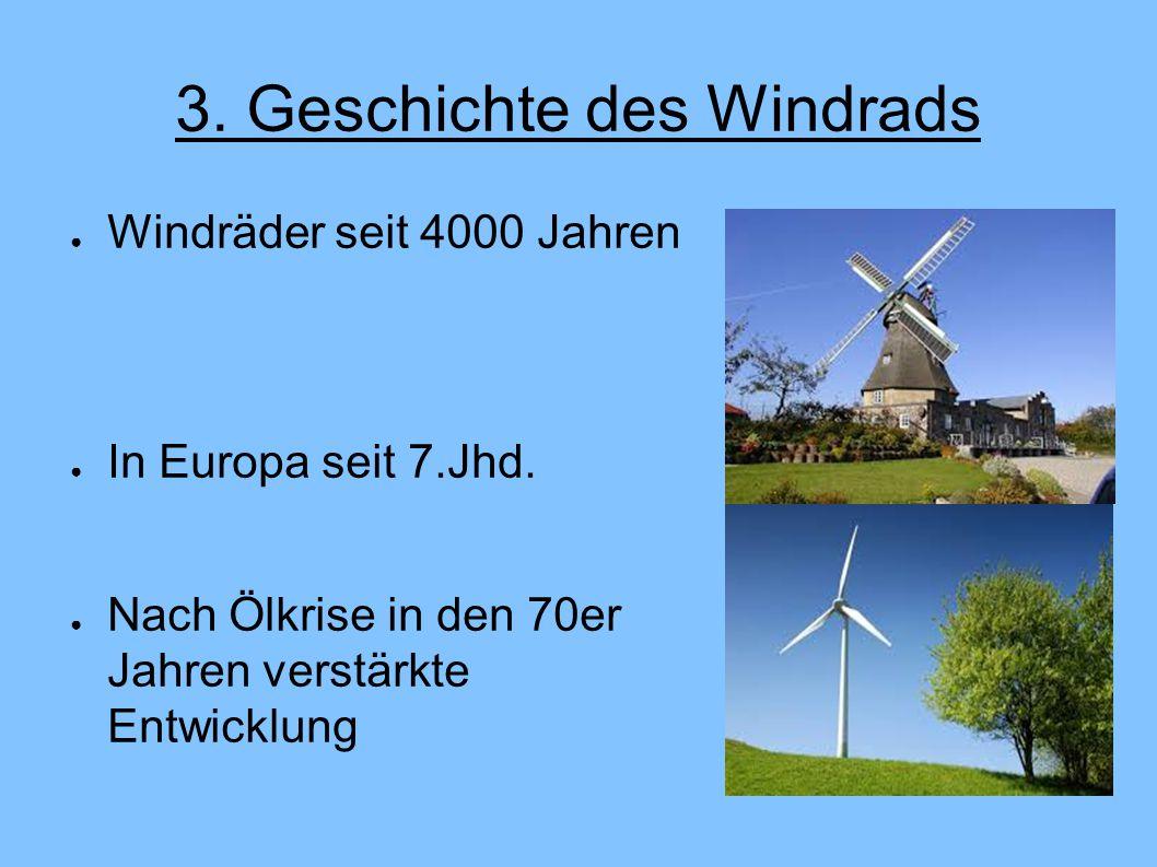 3. Geschichte des Windrads