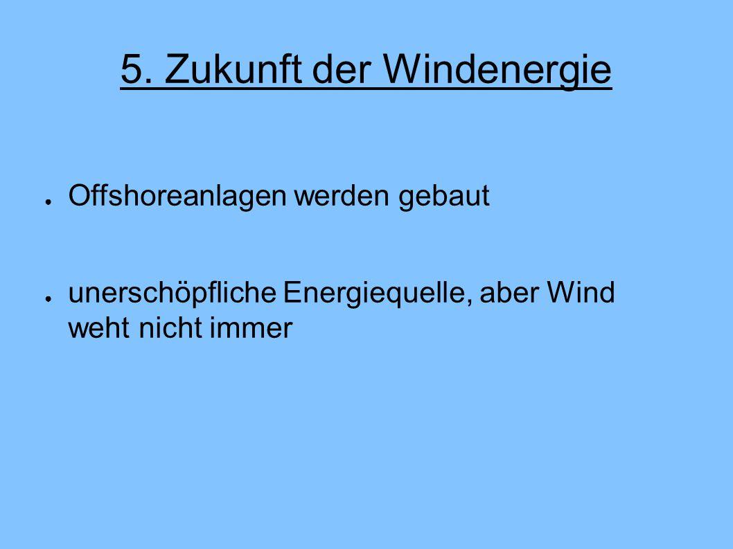 5. Zukunft der Windenergie