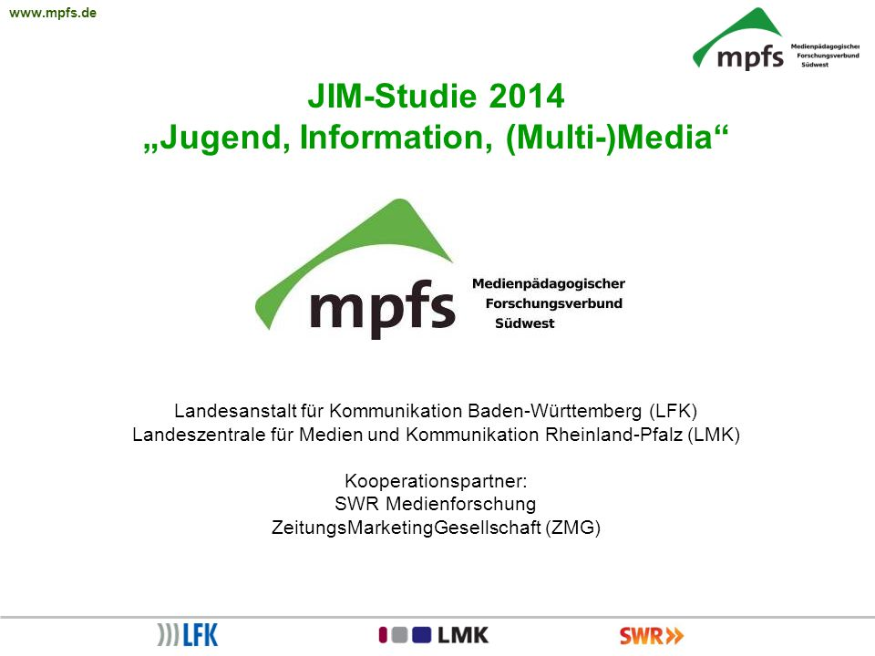 """Jugend, Information, (Multi-)Media"